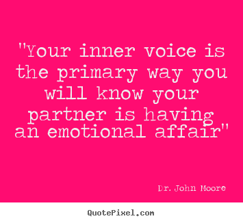 Is your wife having an emotional affair