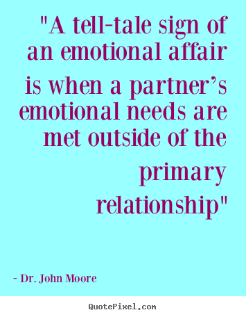 Whats an emotional affair